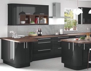 modern high gloss kichen units